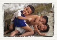 KIDS - Moc Bai Border, Cambodia