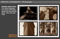 New York City - Paris Series